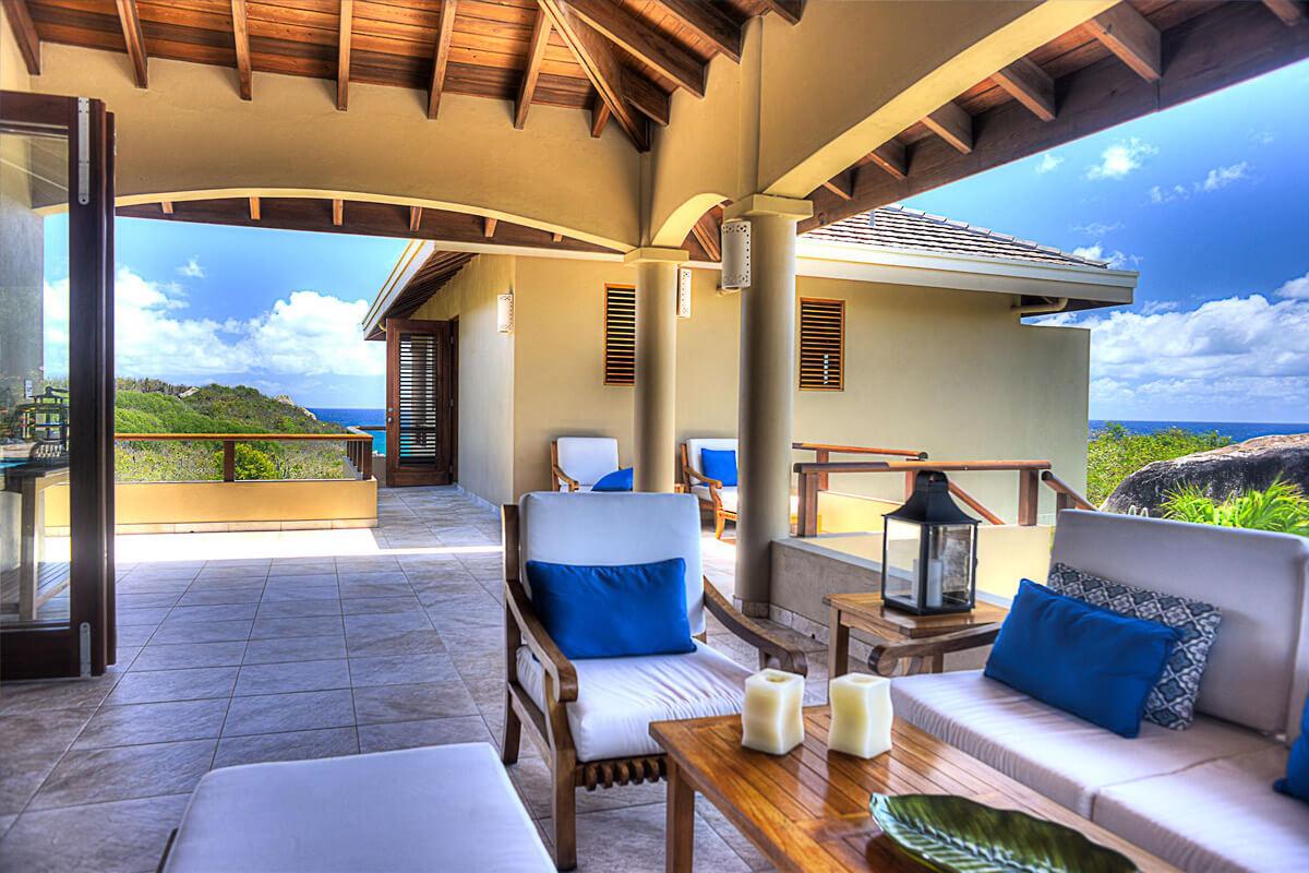 Calypso Villa Verandah