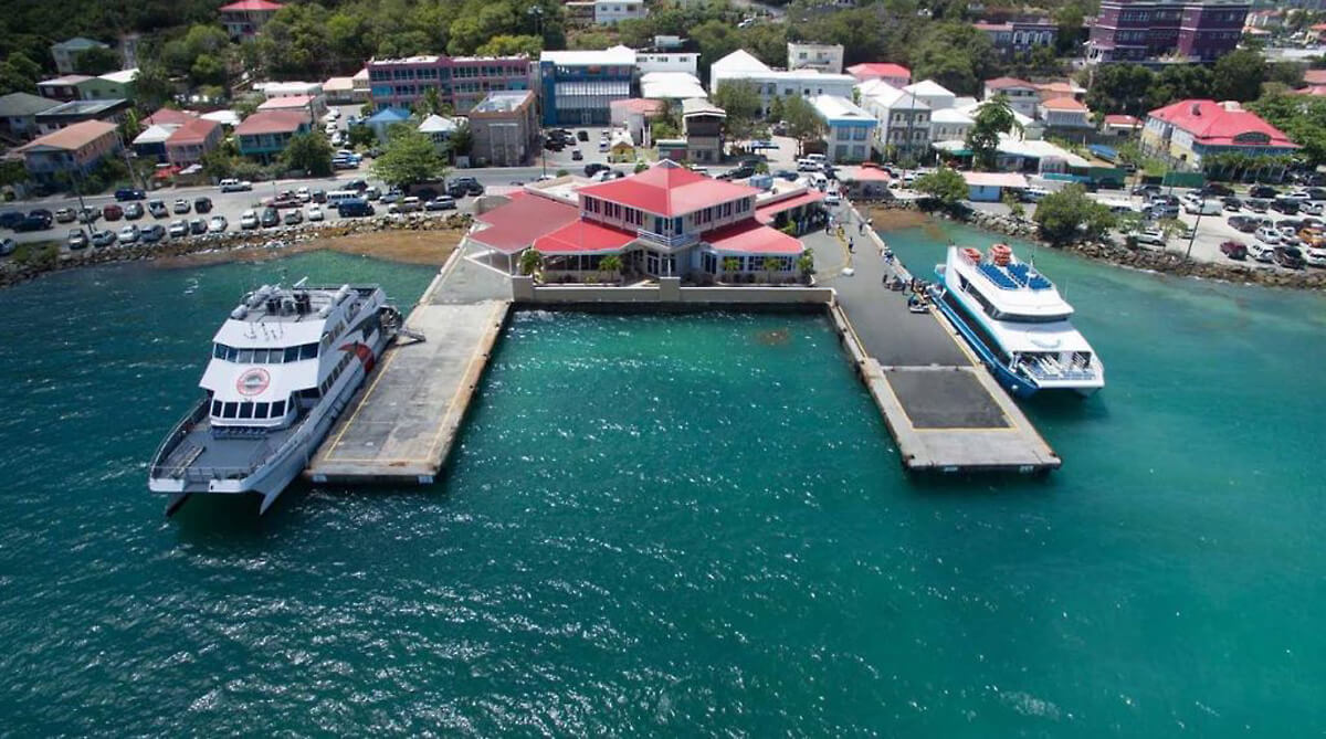 Road Town Ferry Dock BVI