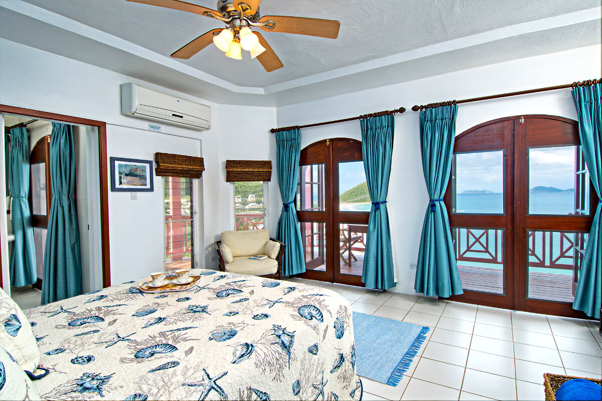 Sunset House Villa Bedroom