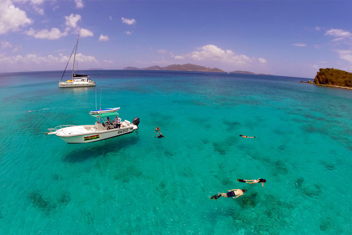 Day Trips BVI - Snorkeling at Norman Island