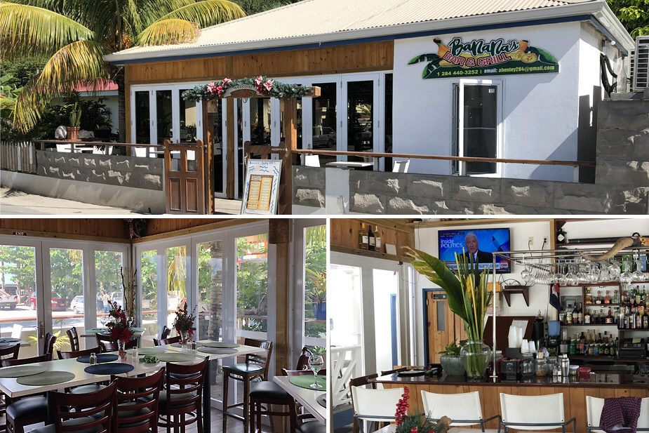 Banana's Bar & Grill in Cane Garden Bay