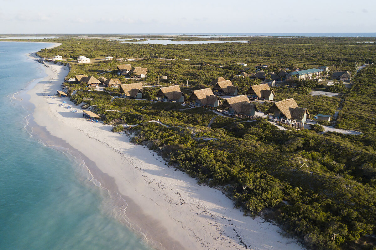 Anegada Beach Club Aerial View