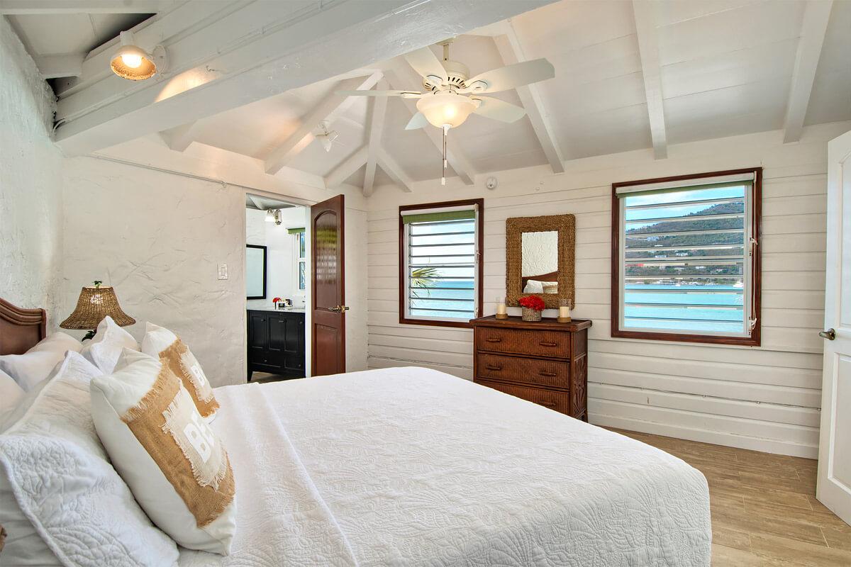 Cane Garden Bay Beach House Bedroom