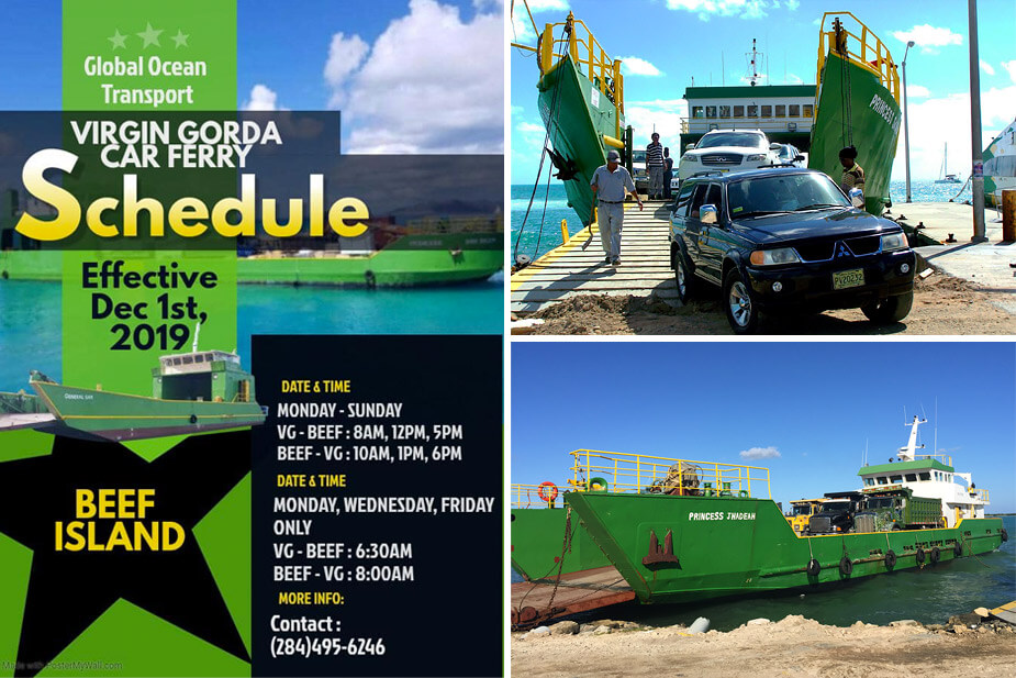 Global Ocean Transport BVI Car & Truck Ferry