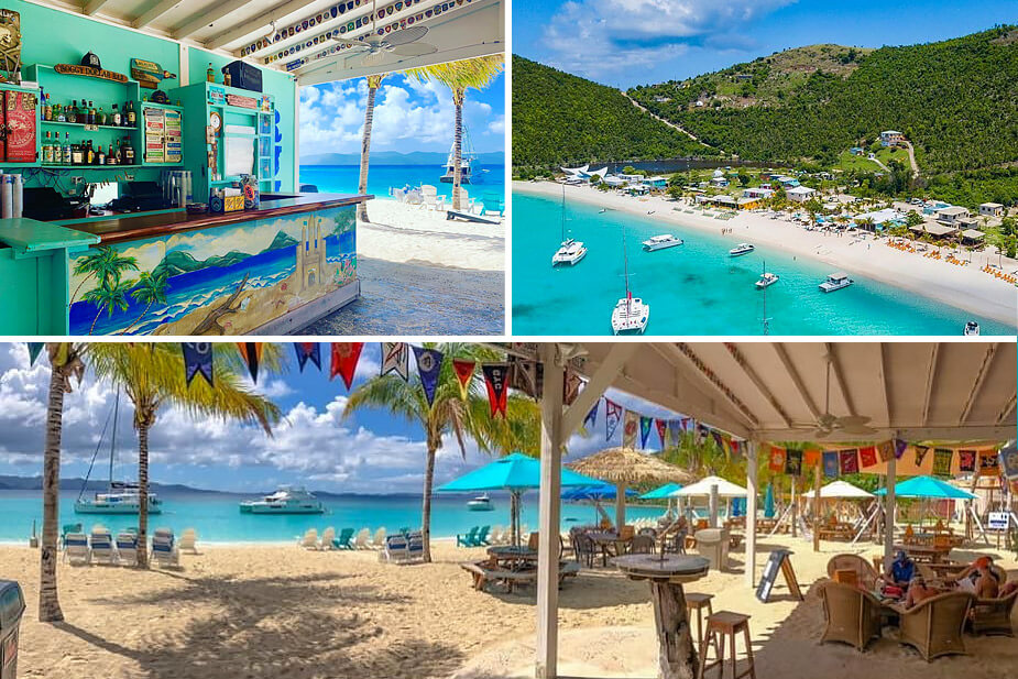 Soggy Dollar Bar White Bay Jost Van Dyke
